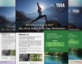 nº 44 pour Yoga Flyer par joymarma11
