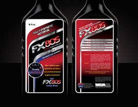 #27 untuk Print & Packaging Design for Throttle Muscle FX805 oleh ArteeDesign