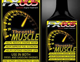 nº 25 pour Print & Packaging Design for Throttle Muscle FX805 par GraphicsStudio