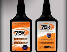 siddjain tarafından Print & Packaging Design for +75K High Mileage Engine Treatment için no 75