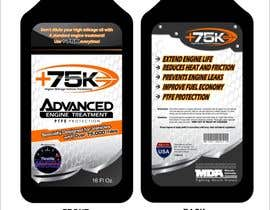 #62 untuk Print & Packaging Design for +75K High Mileage Engine Treatment oleh arteq04