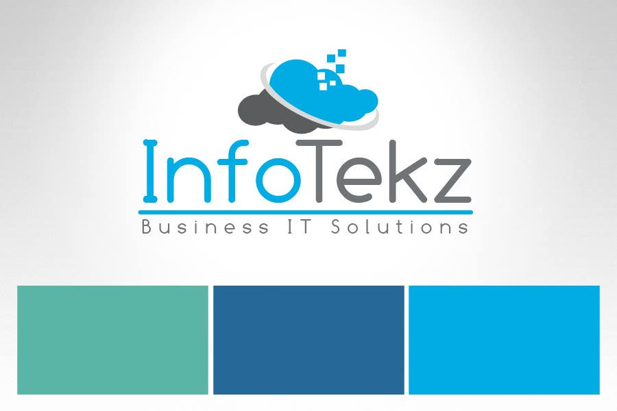 #302 for Logo Design for INFOTEKZ  (Please Try 3D Logo/Font) : Please see attached vector image by RamonDNC