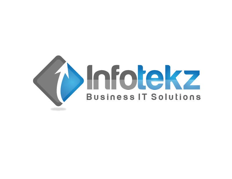 #277 for Logo Design for INFOTEKZ  (Please Try 3D Logo/Font) : Please see attached vector image by rraja14
