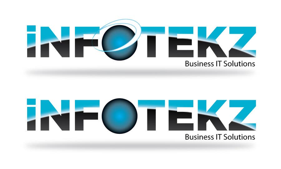 #219 for Logo Design for INFOTEKZ  (Please Try 3D Logo/Font) : Please see attached vector image by SteveReinhart