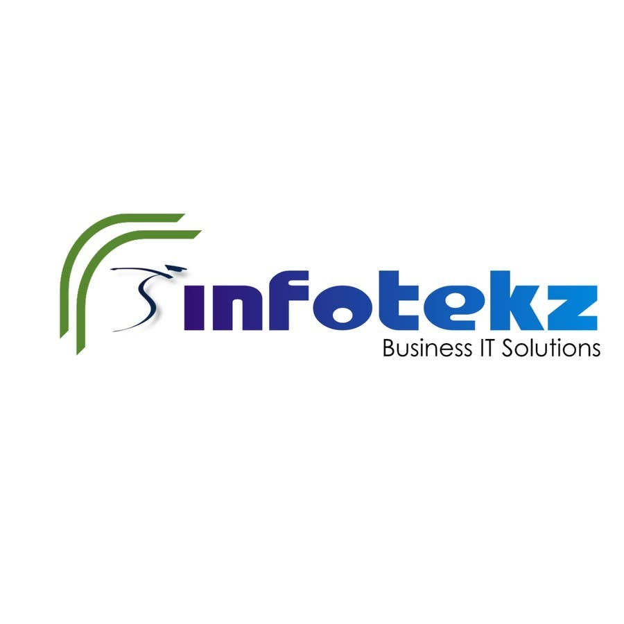 #296 for Logo Design for INFOTEKZ  (Please Try 3D Logo/Font) : Please see attached vector image by disignSoft