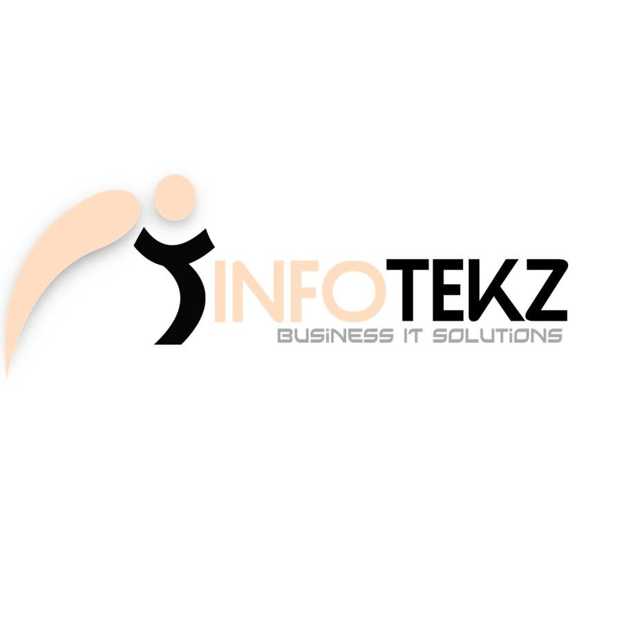 Contest Entry #14 for Logo Design for INFOTEKZ  (Please Try 3D Logo/Font) : Please see attached vector image