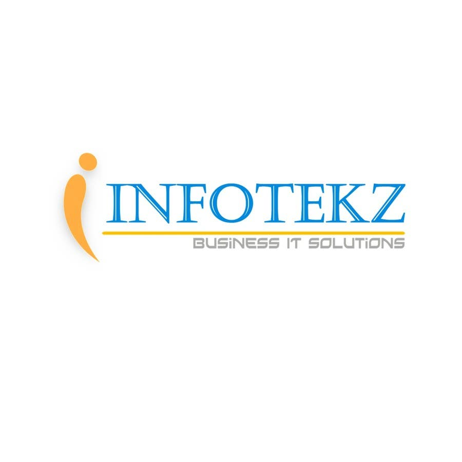 #297 for Logo Design for INFOTEKZ  (Please Try 3D Logo/Font) : Please see attached vector image by disignSoft
