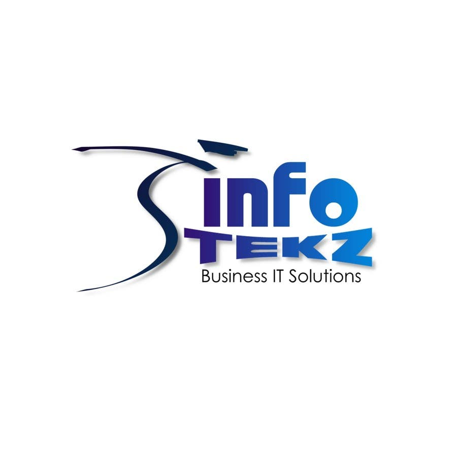 #294 for Logo Design for INFOTEKZ  (Please Try 3D Logo/Font) : Please see attached vector image by disignSoft