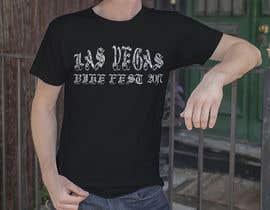 nº 24 pour Design a T-Shirt  Las Vegas BikeFeat 2017 tattoo script par jaks7016