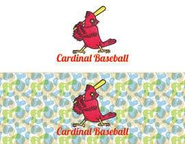 nº 16 pour Design a Cardinal Baseball Logo par mijan7