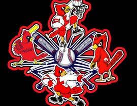 nº 29 pour Design a Cardinal Baseball Logo par joepic
