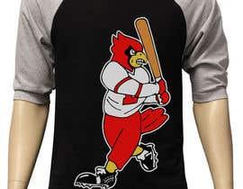 nº 19 pour Design a Cardinal Baseball Logo par kevingitau
