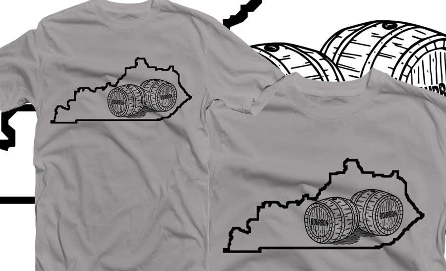 Proposition n°43 du concours Design a T-Shirt - Bourbon State