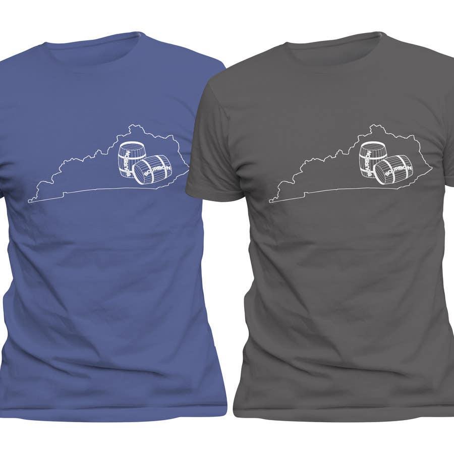 Proposition n°55 du concours Design a T-Shirt - Bourbon State