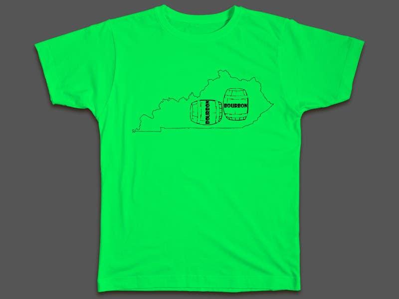 Proposition n°38 du concours Design a T-Shirt - Bourbon State
