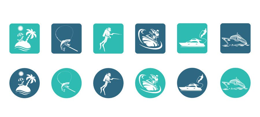 Proposition n°4 du concours Design some Icons for my website and app