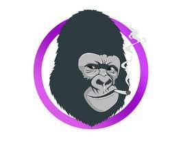 nº 7 pour Gorilla smoking cigar par gerardguangco