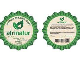 nº 32 pour Design two round labels for a natural product par imagencreativajp