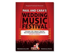 #70 for Design a Music Festival Wedding Poster by MrAhsanImran