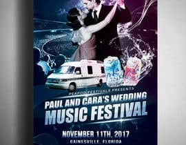 #56 for Design a Music Festival Wedding Poster by Pixelgallery