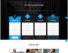 nº 2 pour Create a hosting website with Zionhost Template and bridge WHMCS par yinkdesigns