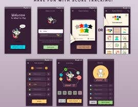 nº 26 pour Design a mockup for a board game score tracking app par Designmoar