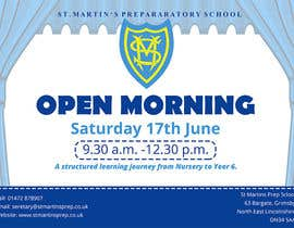 #8 for Design a flyer for open morning June 2017 by maidang34