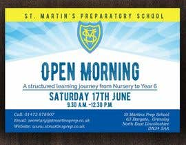 #21 for Design a flyer for open morning June 2017 by mhmijan