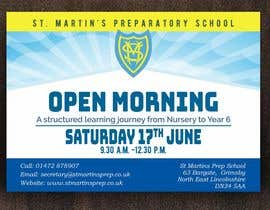 #22 for Design a flyer for open morning June 2017 by mhmijan