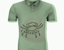 nº 6 pour Design a Typography T-Shirt for the Zodiac Cancer par stacs