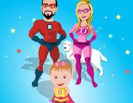 nº 9 pour Personalized superhero drawing par MhmdAbdoh