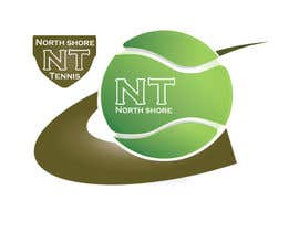 #273 para Logo Design for Northshore Tennis por laniegajete