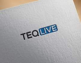 """nº 64 pour Design a LOGO for our website """"Teqlive"""" par aynulhaque330"""