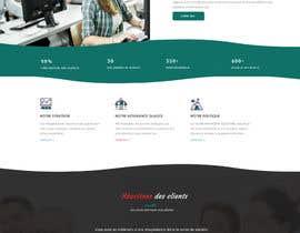 nº 14 pour Design a Website Mockup par atikul11