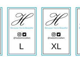 nº 7 pour Design Clothing Inner Tags par santoroan