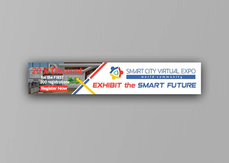 Proposition n°22 du concours Smart City Virtual Expo banner