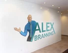 nº 45 pour Design a Logo for Alex Branning par anupomroy372