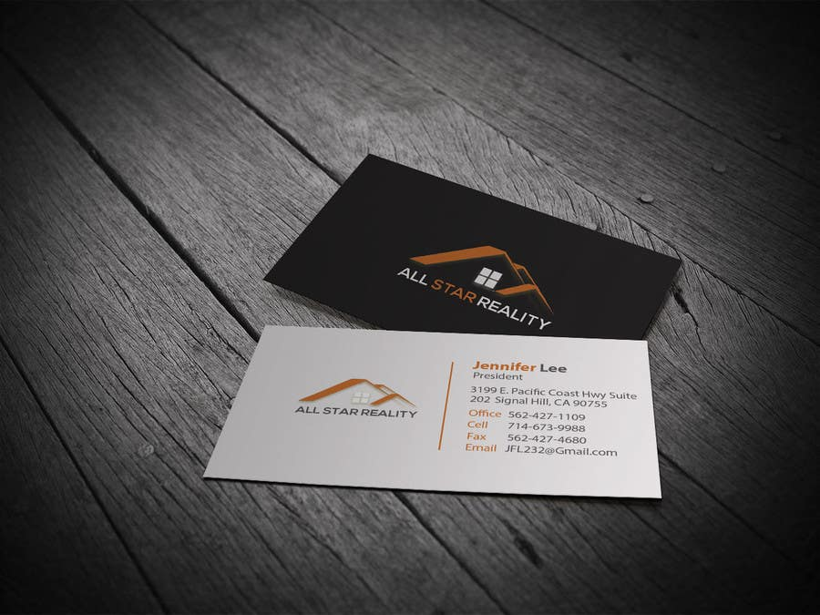 Proposition n°25 du concours Business Card Design for Real Estate Office