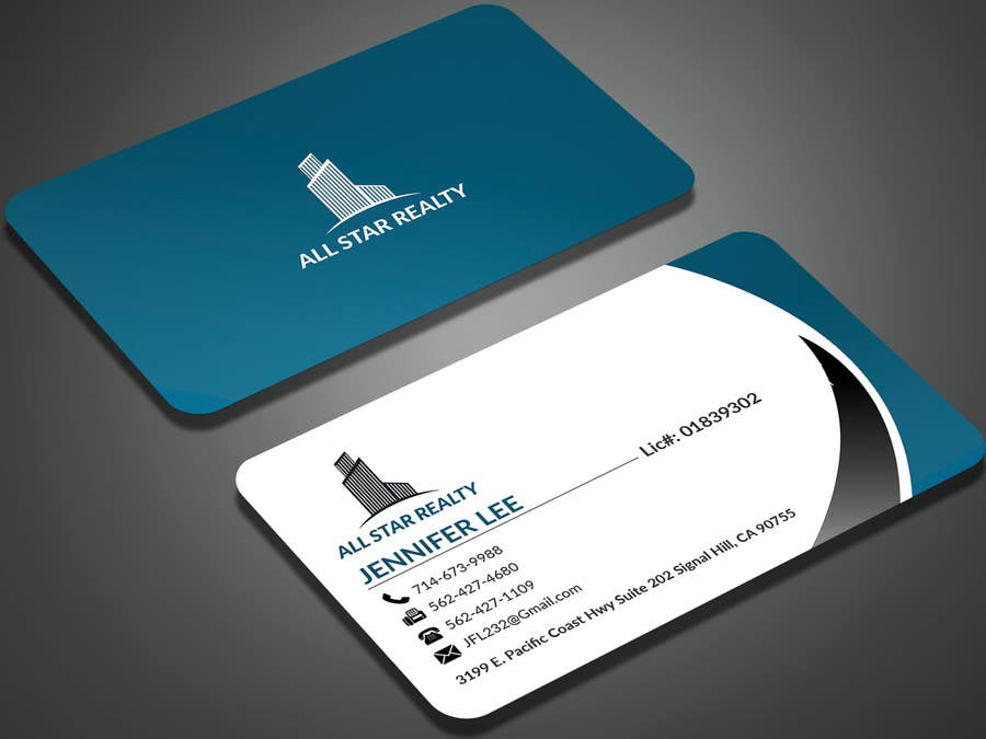 Proposition n°151 du concours Business Card Design for Real Estate Office