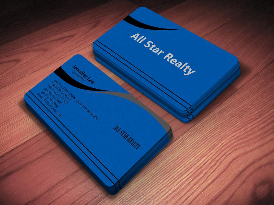 Proposition n°234 du concours Business Card Design for Real Estate Office