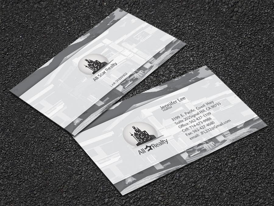 Proposition n°308 du concours Business Card Design for Real Estate Office