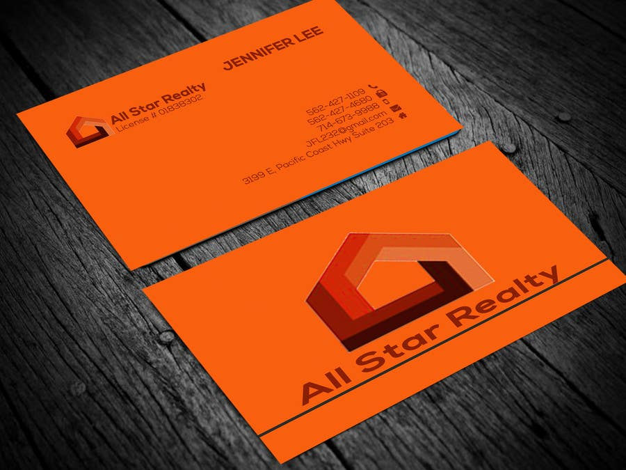 Proposition n°124 du concours Business Card Design for Real Estate Office