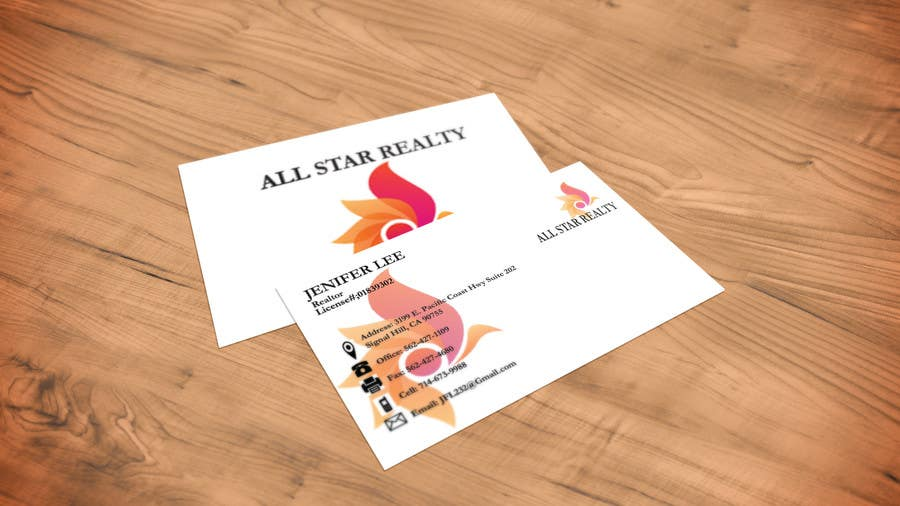 Proposition n°297 du concours Business Card Design for Real Estate Office