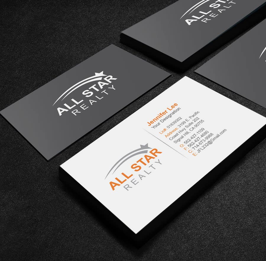 Entry 92 by mamun313 for business card design for real estate contest entry 92 for business card design for real estate office reheart Image collections