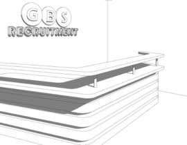nº 2 pour I need some 3D Graphic Design for office reception desk furniture and signage par danielneyo