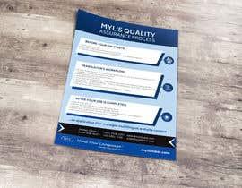 nº 55 pour Design a Flyer (MYL) par wephicsdesign