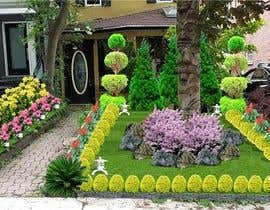 nº 5 pour Design a small landscape design for my front yard par mohmedrashed