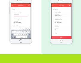 nº 17 pour App Mock up. User experience. par dexterxoxo