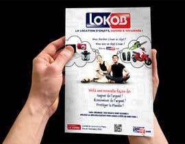 jtmarechal tarafından Advertisement Design (Flyer/A4) for a New Start-up (Lokob.com) için no 40