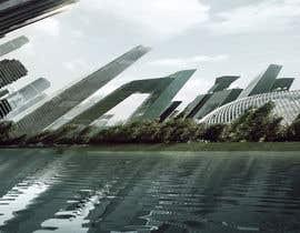 "nº 3 pour Create some ""Inception movie effect' image of my city par WebDev135"
